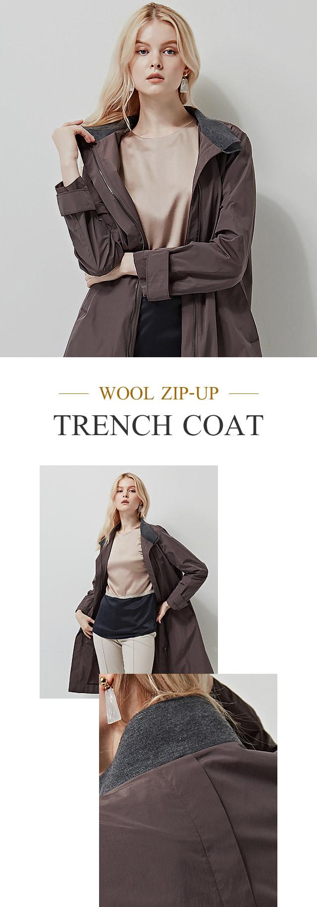wool zip up, trench coat, zip up, tench coat, wool coat, 집업,짚업,울 짚업 코트